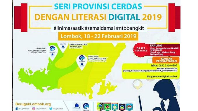 Lawan Hoax dengan Literasi Digital untuk Generasi Muda NTB