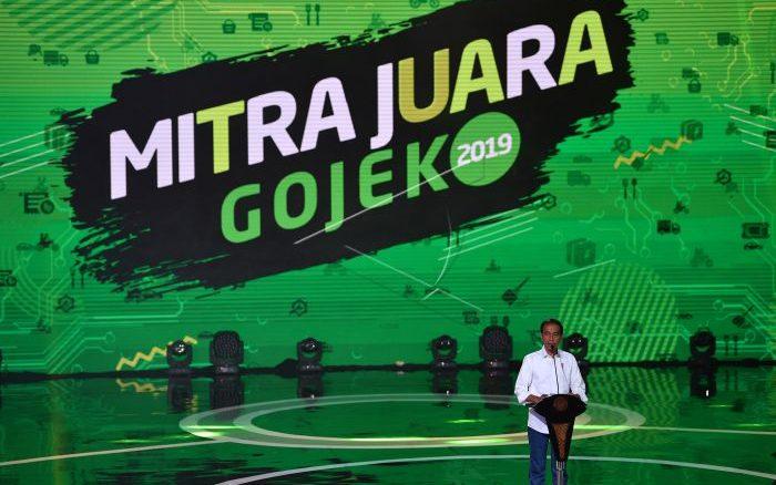 Presiden Apresiasi Mitra Gojek