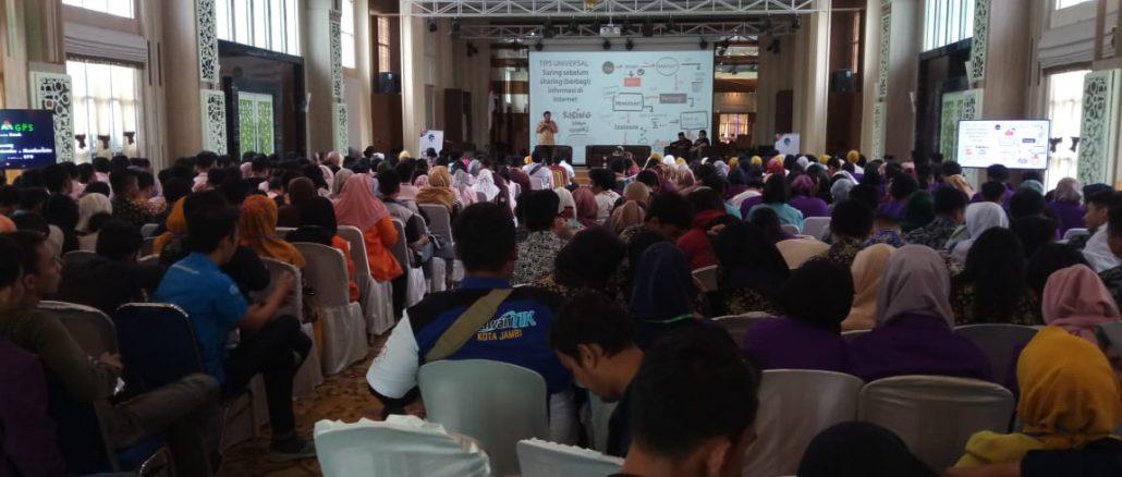 Milenial Jambi Cerdas Internet untuk Tingkatkan Potensi Daerah