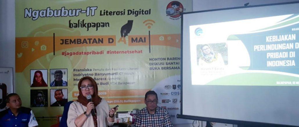 Ngabubur IT di Balikpapan, Agar Masyarakat Jaga Data Pribadi