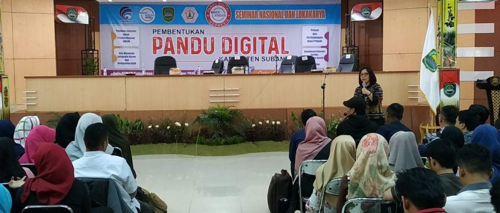 Jawara Pandu Digital Subang Dampingi Digitalisasi Desa