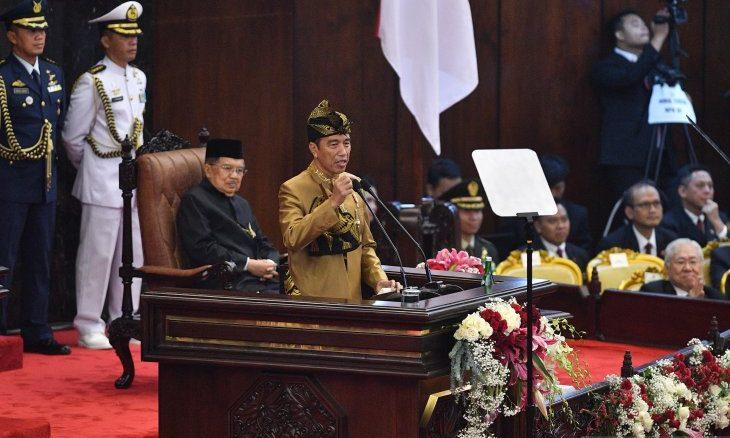 Pidato Kenegaraan Presiden Jokowi Tahun 2019
