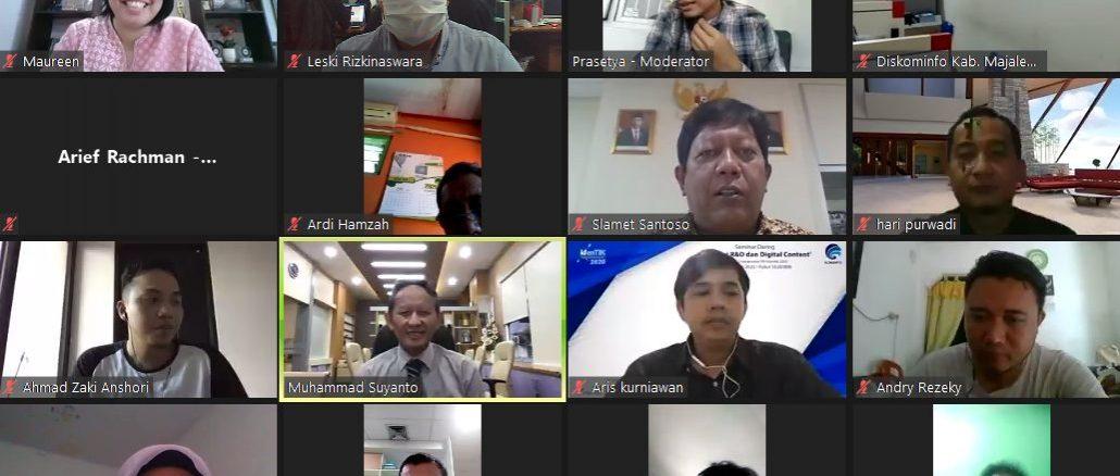 Program Digitalisasi Nasional Bantu Peserta IdenTIK dalam Berkarya