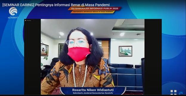 Tangkal Hoaks, Kominfo Proaktif Sebarkan Informasi Penyeimbang