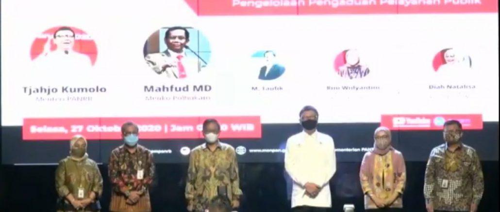 Menko Polhukam: Penerapan SPBE Wujudkan Pemerintahan Bersih