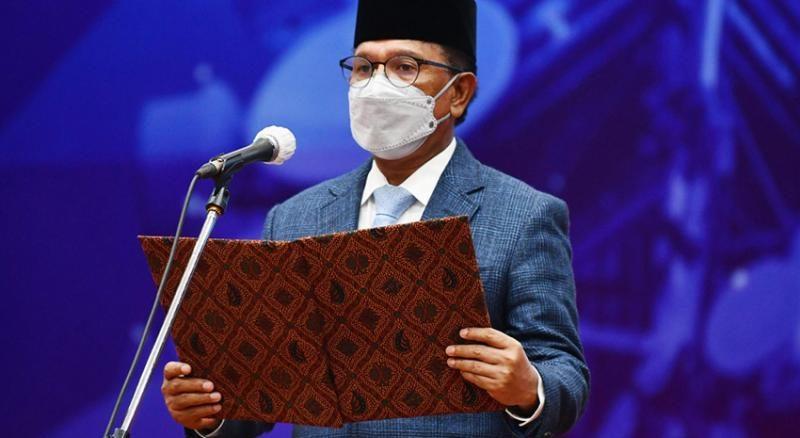 Lantik 3 Pimpinan Tinggi Pratama, Menteri Johnny: Perkuat Komitmen Reformasi Manajemen