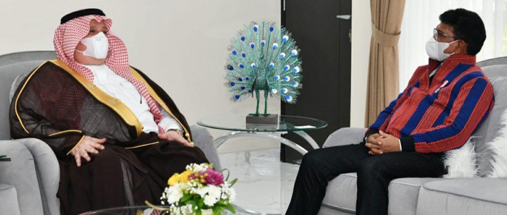 Menteri Johnny Bahas Tindak Lanjut DCO dan Kerja Sama Ekonomi Digital Bersama Dubes Arab Saudi