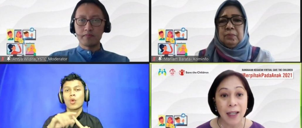 Direktur Mariam: Indonesia Perlu Desain Infrastruktur Internet Ramah Anak
