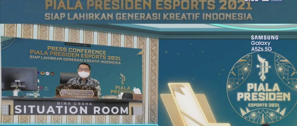 Pemerintah Dorong Ekosistem e-Sport Lewat Ajang Piala Presiden 2021