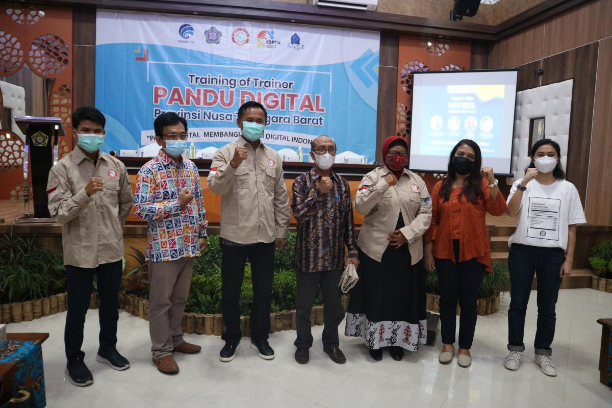 Training of Trainee (ToT) Pandu Digital Provinsi NTB