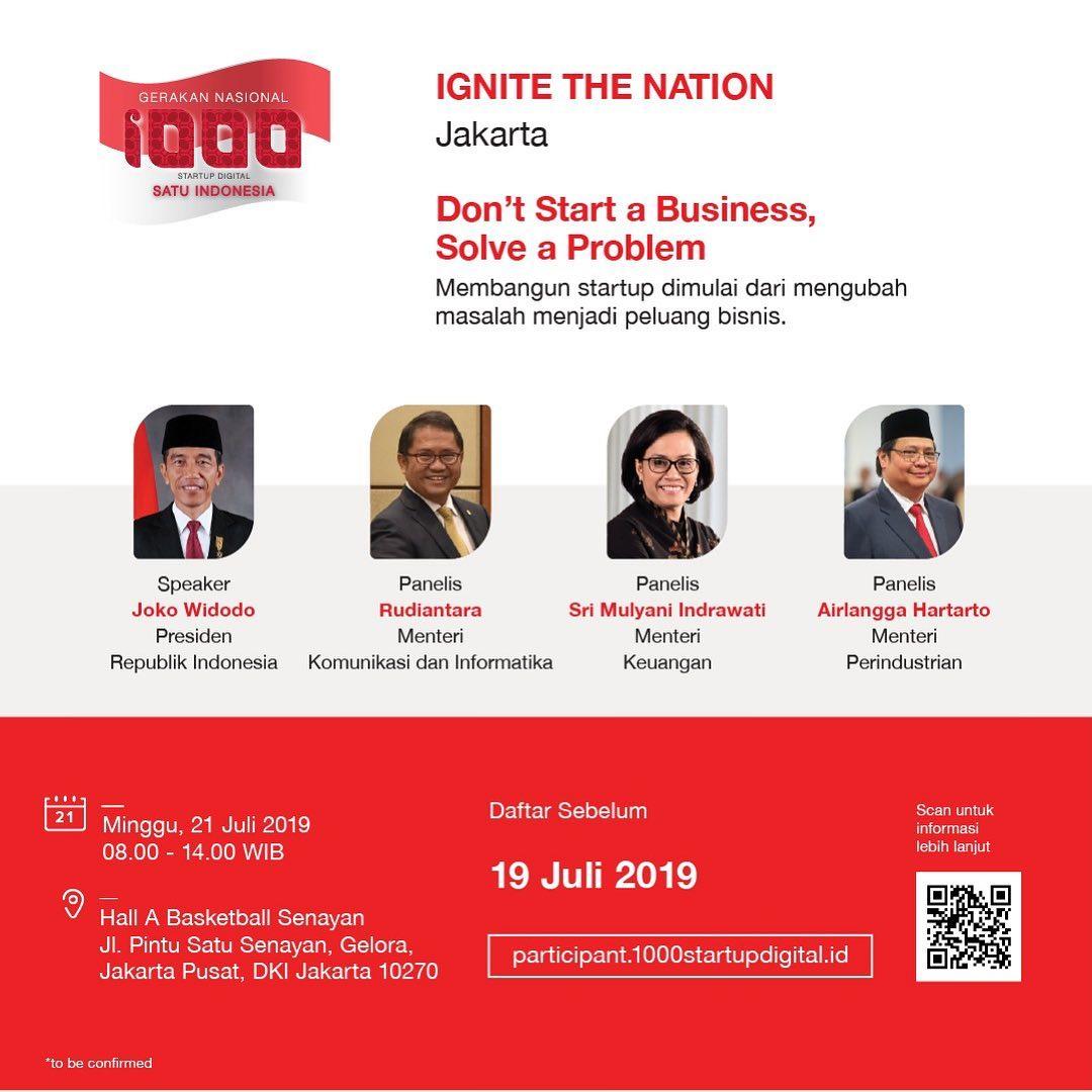 Pembicara dalam launching 1000 startup digital (1)