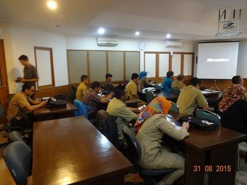 Seminar dan Bimbingan Teknis Pembentukan Jabar Prov-CSIRT, 2015