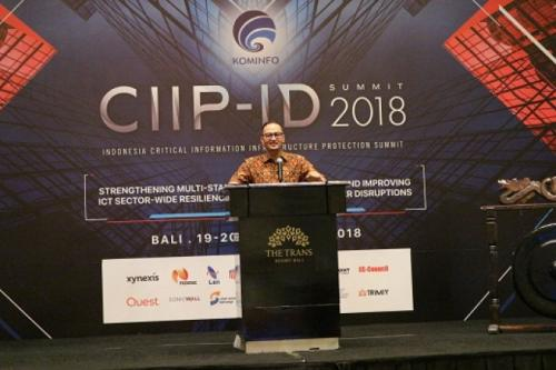CIIP-ID Summit for ICT Sector 2018 di Hotel The Trans Resort Bali, 18 September 2018