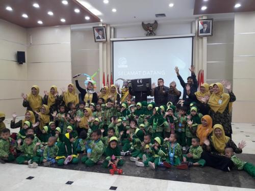 Kunjungan TK Paud Masjid Istiqlal ke Kementerian Kominfo