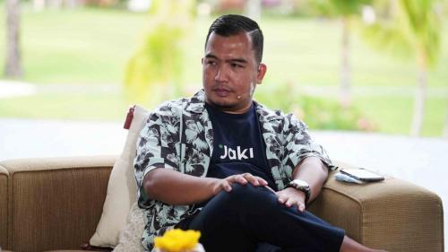 Kepala BLUD Jakarta Smart City, Yudhistira Nugraha.