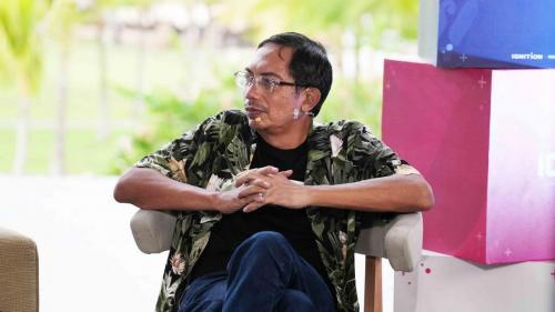Guru besar bidang Teknologi Informasi Universitas ITB, Suhono Harso Supangkat.