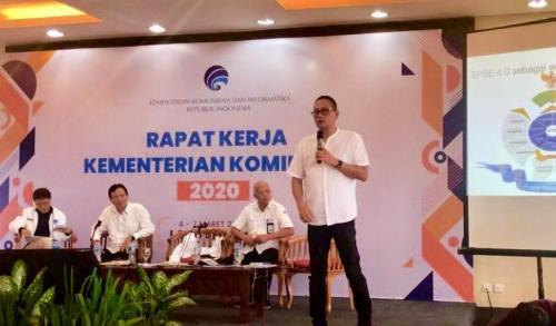 Rapat Kerja Kementerian Kominfo 2020