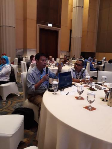 Diskusi yang terjalin pada Bimtek Peningkatan Kesadaran dan Implementasi Perlindungan Data Pribadi