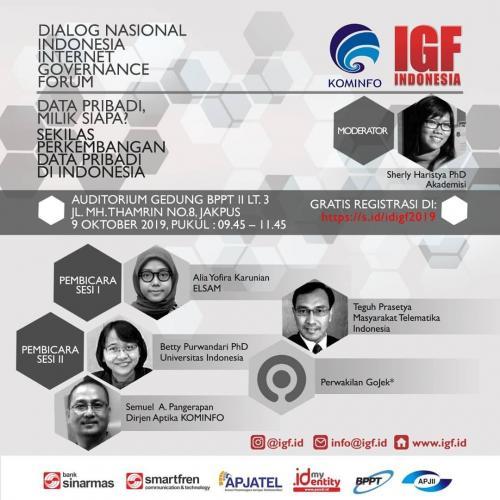 Forum Data Pribadi Milik Siapa, Sekilas Perkembangan Data Pribadi di Indonesia