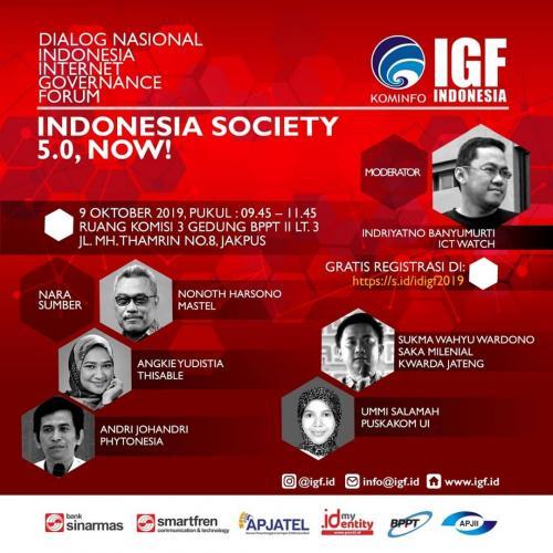 Forum Indonesia Society 5.0, Now