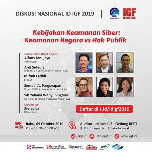 Forum Kebijaka Keamanan Siber Keamanan Negasa vs Hak Publik