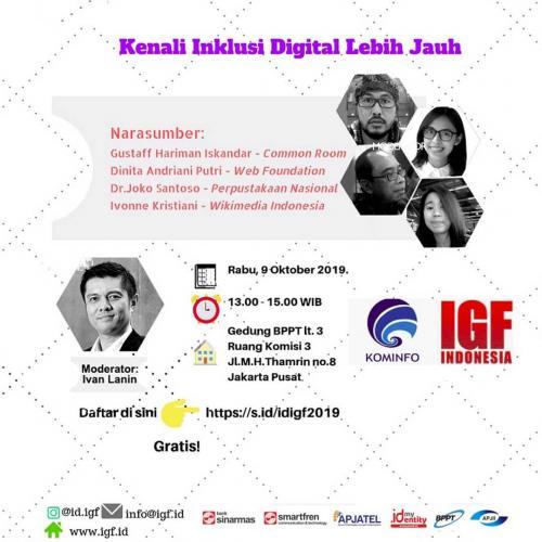 Forum Kenali Inklusi Digital Lebih Jauh