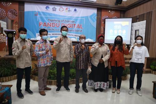 Training of Trainee (ToT) Pandu Digital Provinsi NTB