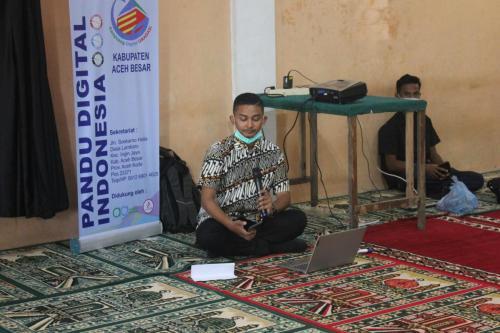 Pemberdayaan Pandu Digital Kab. Aceh Besar