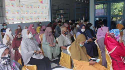Peserta workshop pemberdayaan Pandu Digital Kota Makassar (22/04).