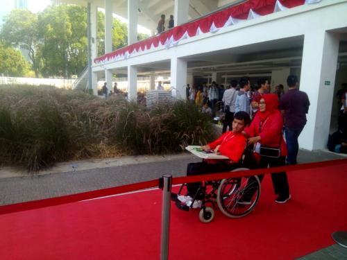 Kegiatan Ignite The Nations juga diperuntukan untuk disabilitas