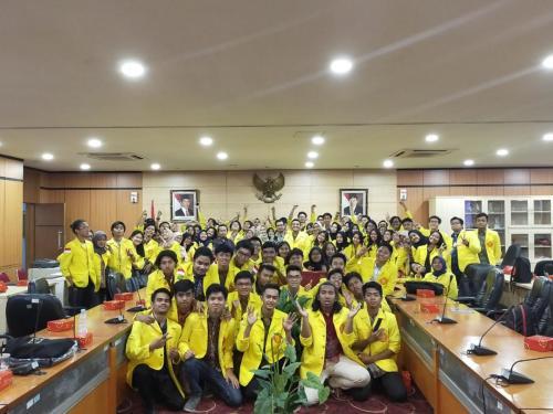 Keseruan kunjungan mahasiswa Fisip UI ke Ditjen Aptika