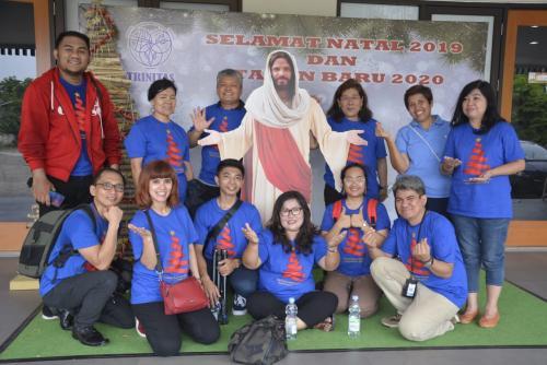 Komunitas Kompaq Kominfo berfoto bersama