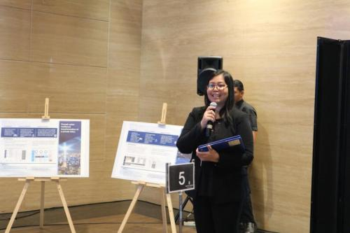 MC membuka acara ICT Sector Cyber Security Roundtable