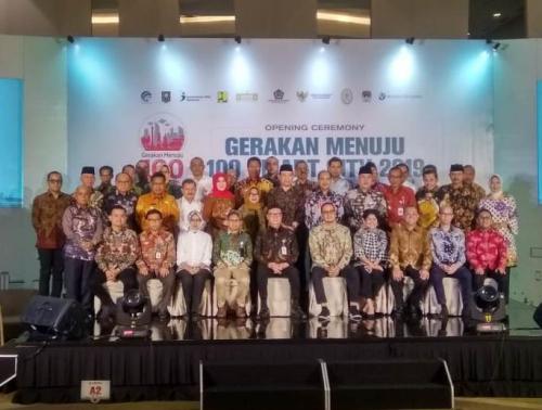 Opening Ceremony Gerakan 100 Smart City 2019
