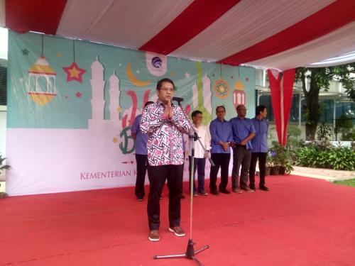 Menteri Kominfo Rudiantara Mohon Maaf Lahir Batin kepada seluruh pegawai di Lingkungan Kementerian Kominfo