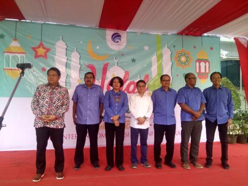 Menteri Kominfo Rudiantara bersama para Pejabat Eselon 1 di Lingkungan Kementerian Kominfo