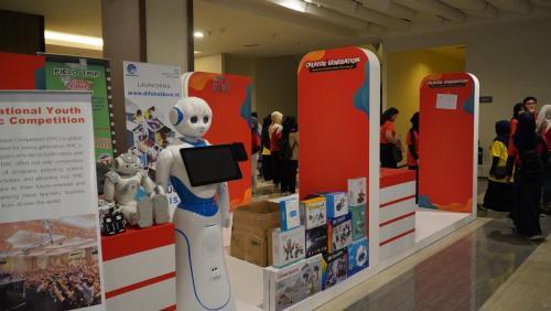 Pameran IT yang ada di acara Siberkreasi Netizen Fair 2019
