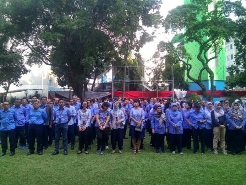 Para pegawai di Lingkungan Kementerian Kominfo (2)