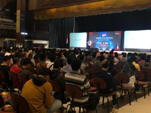 Para peserta Ignite The Nation Yogyakarta