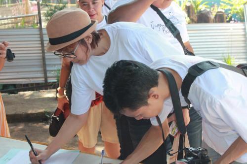 Para peserta yang berasal ndari komunitas blogger