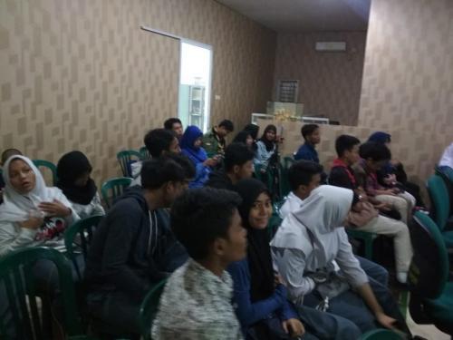 Para peserta yang hadir dalam acara Ngabubur IT di Smart Village Tangerang Selatan