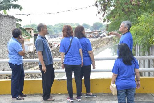 Perwakilan Kompaq Kominfo berkoordinasi dengan perwakilan warga