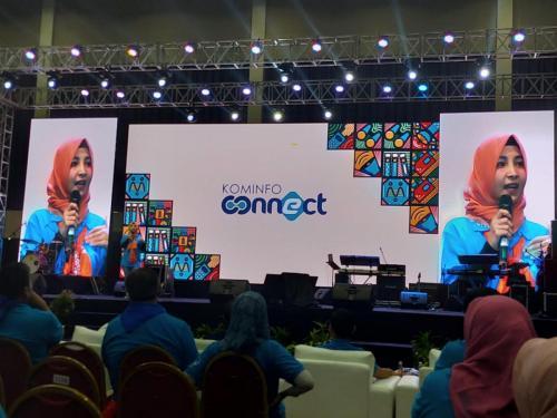 Stand up Comedy turut memeriahkan acara Kominfo Connect