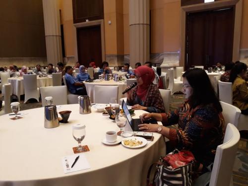 Suasana Bimtek Peningkatan Kesadaran dan Implementasi Perlindungan Data Pribadi