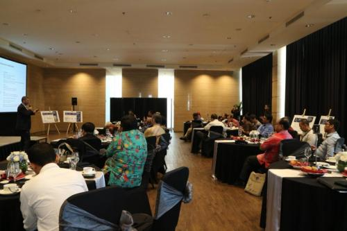 Suasana acara ICT Sector Cyber Security Roundtable