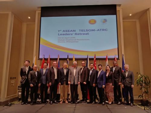 Foto bersama perwakilan TELSOM ATRC 2019.